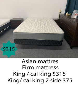 Asian firm mattress king size for Sale in Costa Mesa, CA