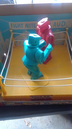 66 vintage Rock'em sock'em robots in original box for Sale in Gibsonia, PA