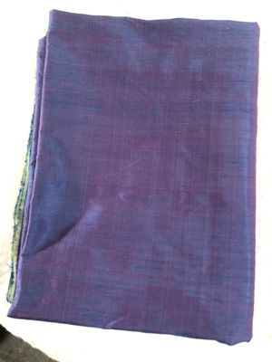 1.5 yards blue magenta linen fabric FREE SHIPPING for Sale in Seattle, WA