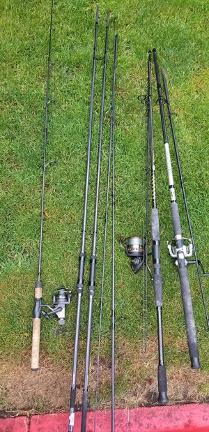 selling my Fishing Rods /2/12Feet for Sale in Everett, WA
