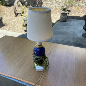 Cute small blue lamp for Sale in Vallejo, CA