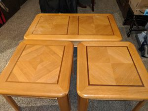 Coffee table set for Sale in Denver, CO