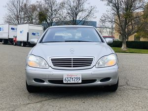 2001 Mercedes Benz S 500 for Sale in Tracy, CA
