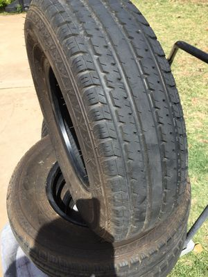 4 RV Camper Trailer Tires for Sale in Lubbock, TX