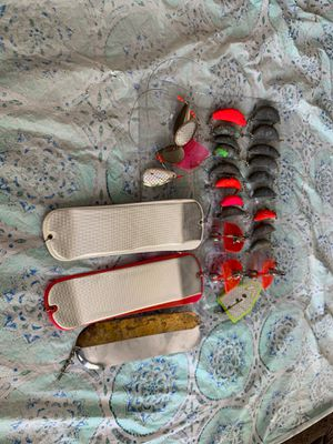 Fishing Lures and weights for Sale in Mountlake Terrace, WA