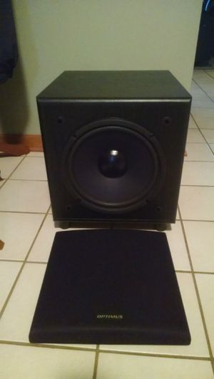 "Optimus 10"" sub for Sale in Bull Valley, IL"