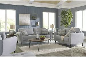 Ashley - Cardello - Pewter - Sofa, Loveseat, Chair & Ottoman. for Sale in Tampa, FL