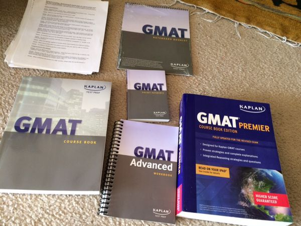 GMAT practice/ prep books
