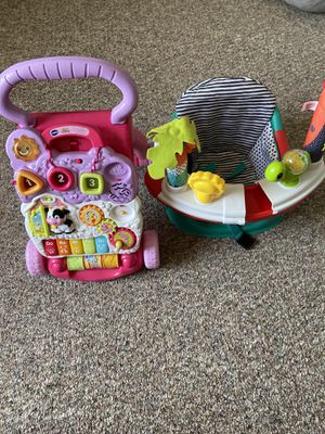 Learning walker and Booster seat for Sale in Wixom, MI