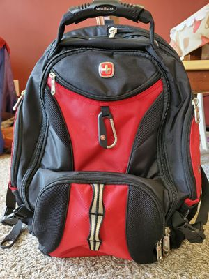 Swiss Gear SA1923 Black TSA Friendly ScanSmart Laptop Backpack - Fits Most 15 Inch Laptops and Tablets for Sale in Cherry Hill, NJ