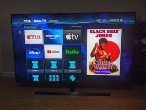 Brand New TCL 8 series 4K TV with Mini-LED technology for Sale in South San Francisco, CA