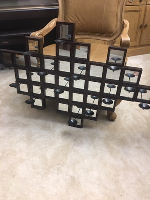 Wall decor mirror/ candle holder for Sale in Canton, MI