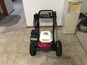 Honda commercial pressure washer 6.5 hp with Cat pump 2800 PSI 3 GPM excellent for Sale in Everett, WA