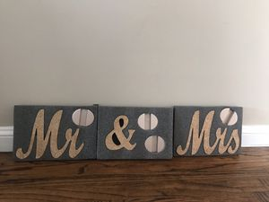 Bride and Groom Wedding Sign for Sale in San Jose, CA