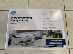 *NEW WiFi color HP Printer, Factory sealed! Prints from cell phones! for Sale in Miami, FL