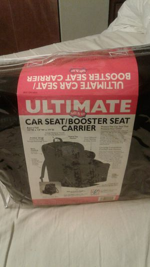 Ultimate car seat booster seat carrier for Sale in Jersey City, NJ