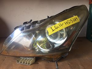 INFINITI G37 G25 Q40 FRONT LEFT DRIVER SIDE HEADLIGHT WATER DAMAGE for Sale in Fort Lauderdale, FL