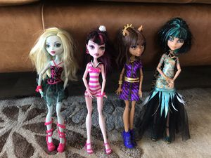 Monster High Dolls for Sale in San Diego, CA