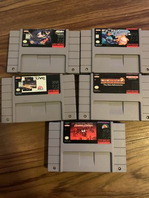 Super nintendo and nes games. for Sale in Tampa, FL