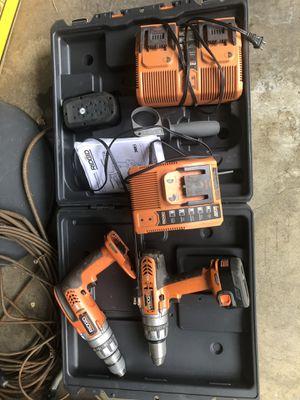 Rigid Drill set for Sale in Riverside, CA