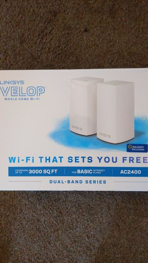 Linksys Velop AC2400 (2 pack) for Sale in Vancouver, WA