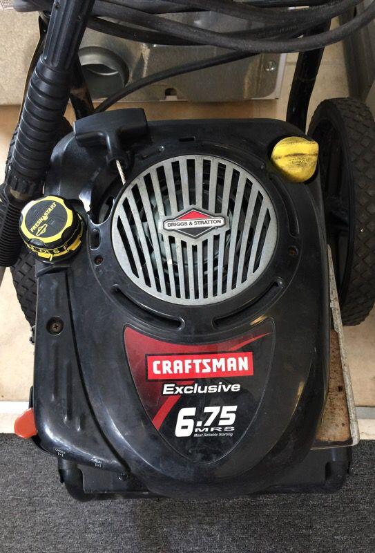 Craftsman pressure washer 2550psi w/hose/gun