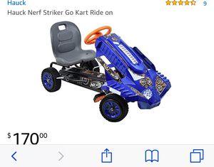 Nerf gun go kart for Sale in Albuquerque, NM