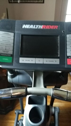 Health Ryder Eliptical with TV for Sale in Lynchburg, VA