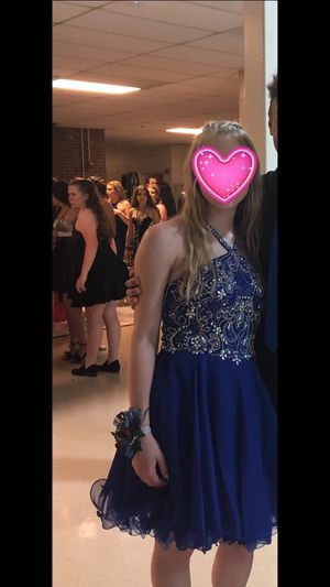 Blue Homecoming/ prom dress for Sale in Sterling Heights, MI