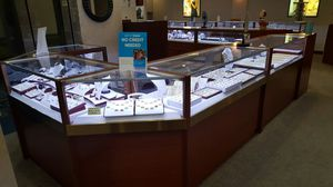 "Jewelry 54"" Store Retail Commercial Glass Display Case Showcase Drawer for Sale in Alexandria, LA"
