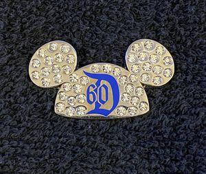 Disney Pin #180, Disneyland Resort, Diamond Celebration, 60th Anniversary, Mickey Ears for Sale in San Diego, CA