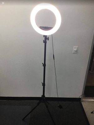 "13"" Dimmable Ring Light 💡 for Sale in Chino, CA"