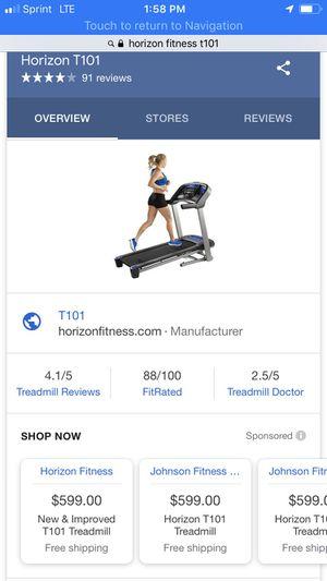 Treadmill-new in box for Sale in Glen Allen, VA