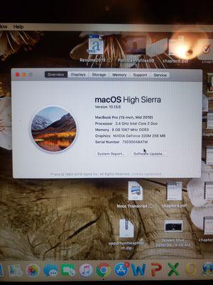 MacBook Pro mid 2010 upgraded for Sale in Woodbridge, VA