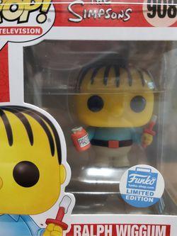 The Simpsons Ralph Wiggum Funko Pop for Sale in Hacienda Heights,  CA