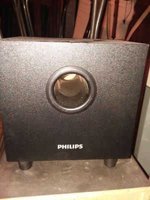 Philip's mini subwoofer for Sale in Mary Esther, FL