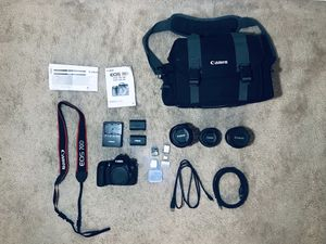 Canon EOS 70D DSLR complete kit for Sale in Lakeland, FL