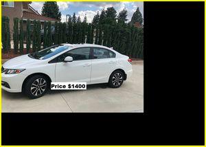 Price$1400 Honda Civic EXL for Sale in Lansing, MI