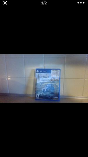 (Ps4) Farming Simulator 15 (or best offer) for Sale in Lee's Summit, MO
