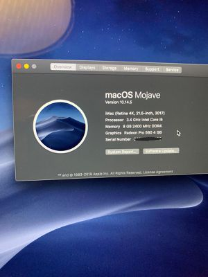 iMac Macintosh HD for Sale in Houston, TX