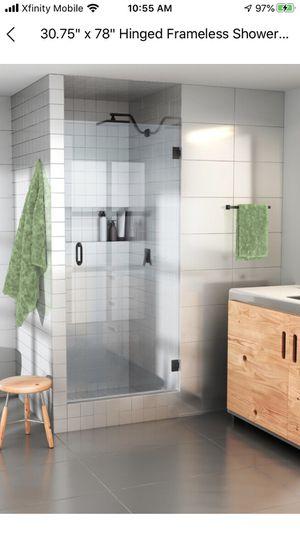 Glass shower door $400 for Sale in Denver, CO