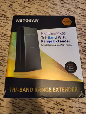 Nighthawk Nighthawk Extender X6S Tri Band for Sale in Indianapolis, IN