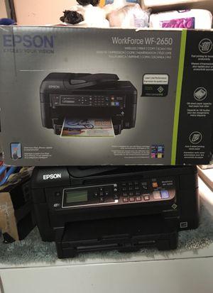 Edson Workforce WF-2650 Printer $40 for Sale in Menifee, CA