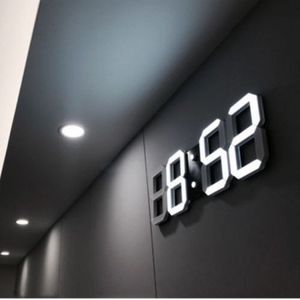 3D Wall Alarm Clock Modern Digital LED Style for Living Room Bedroom Kitchen Big Wall Decoration for Sale in Colorado Springs, CO