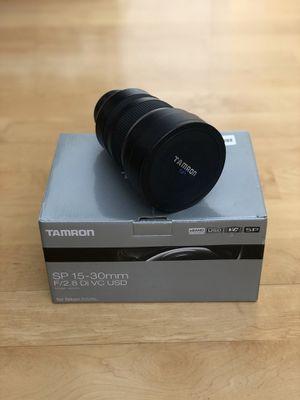 Nikon Tamron a012 15-30mm F2.8 Di VC SP USD for Sale in San Leandro, CA