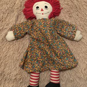 Vintage Raggedy Ann doll for Sale in West Linn, OR