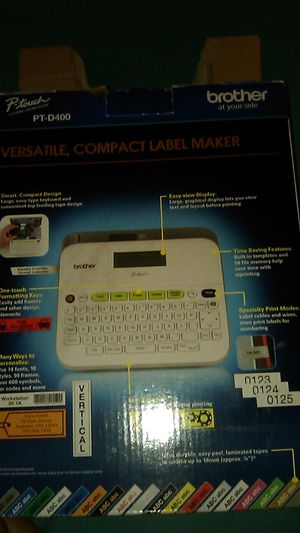 Brother Compact Label Maker for Sale in Pomona, CA