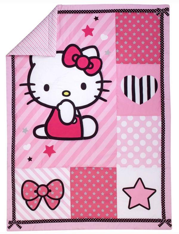 Hello Kitty Toddler Bedding Set New‼‼‼‼