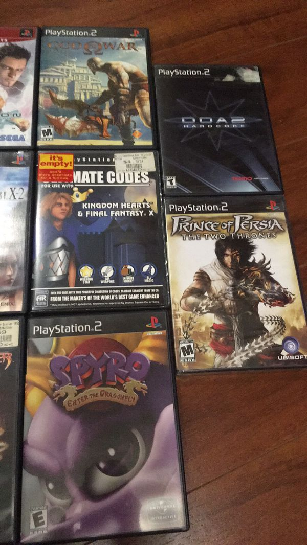 PS2 games $10 each