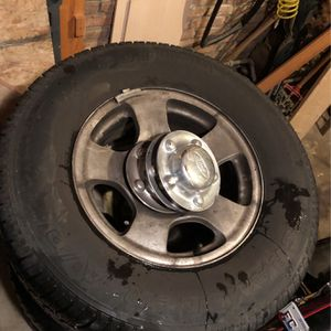Hard To Find... F150, 5 Lug Stock Aluminum Rims 2001 for Sale in Lombard, IL